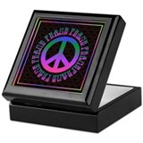 Rainbow Peace Stash Box