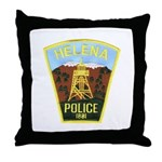 Helena Police Throw Pillow