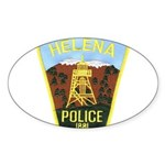 Helena Police Oval Sticker