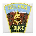 Helena Police Tile Coaster
