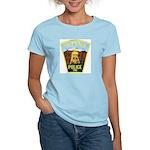 Helena Police Women's Pink T-Shirt