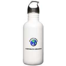 World's Sexiest Corporate Librarian Water Bottle