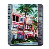 """On the Avenue"" Mousepad"