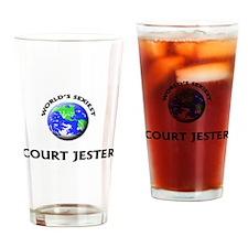 World's Sexiest Court Jester Drinking Glass