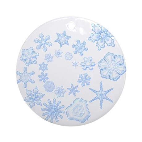 Flurry Ornament (Round)
