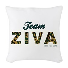 TEAM ZIVA Woven Throw Pillow