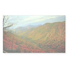 Chimney Rock Mountain Scenery Decal