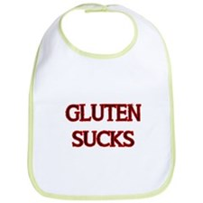GLUTEN SUCKS Bib