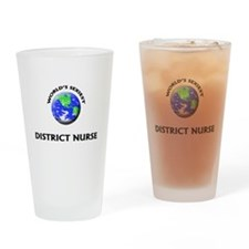 World's Sexiest District Nurse Drinking Glass