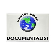 World's Sexiest Documentalist Rectangle Magnet