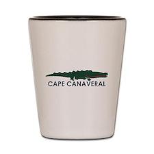 Cape Canaveral - Alligator Design. Shot Glass