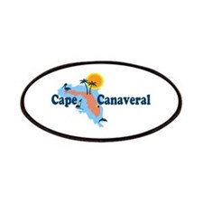 Cape Canaveral - Map Design. Patches