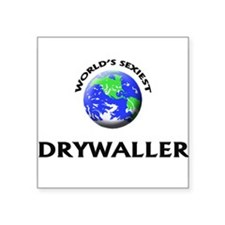 World's Sexiest Drywaller Sticker