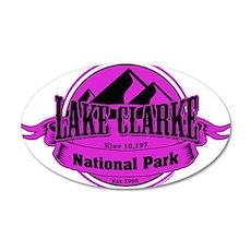 lake clarke 5 Wall Decal