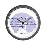 Regal--Beagle Wall Clock