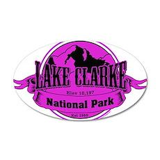 lake clarke 3 Wall Decal