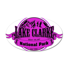 lake clarke 1 Wall Decal