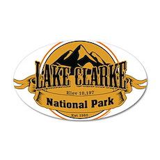 lake clarke 4 Wall Decal