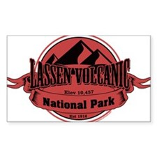 lassen volcanic 5 Decal