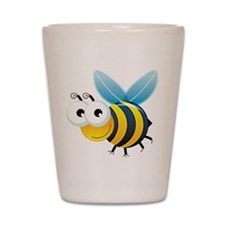 Happy Bee Shot Glass