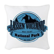 lassen volcanic 3 Woven Throw Pillow