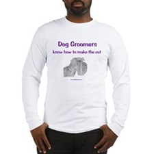 Groomers Make the Cut Long Sleeve T-Shirt