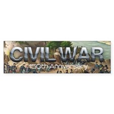 ABH Civil War 150th Anniversary Bumper Sticker