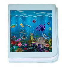 Underwater Love baby blanket