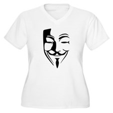 Guy Fawkes Plus Size T-Shirt