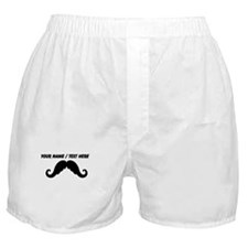 Personalized Mustache Boxer Shorts