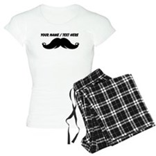 Personalized Mustache pajamas