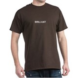 BRILIANT *MISPELLED/JOKE - MEN'S [BLACK OR COLORS]