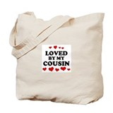 Loved: Cousin Tote Bag