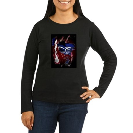 The River Women's Long Sleeve Dark T-Shirt