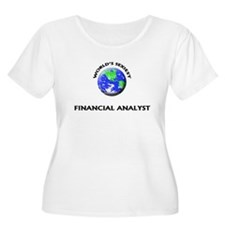 World's Sexiest Financial Analyst Plus Size T-Shir