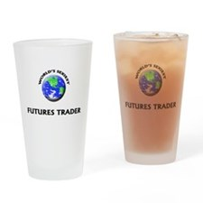 World's Sexiest Futures Trader Drinking Glass