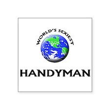 World's Sexiest Handyman Sticker