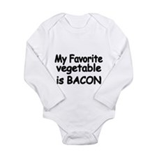 MY FAVORITE VEGETABLE IS BACON Body Suit