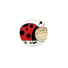 Cute Ladybug Mini Button