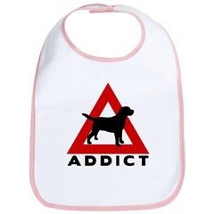 Warning Lab Addict Bib
