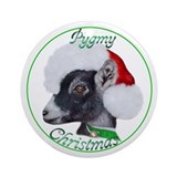 Pygmy Goat Christmas Ornament (Round)