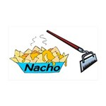 Nacho Hoe 35x21 Wall Decal