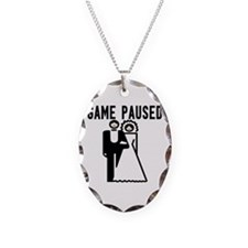 Game Paused Necklace