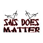 Sais Does Matter 35x21 Wall Decal