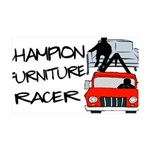 Champion Furniture Racer 35x21 Wall Decal