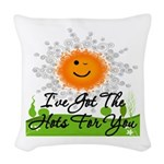 Hots For You Woven Throw Pillow