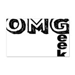 Oh My Geek 20x12 Wall Decal