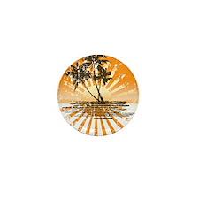 Island Sunset Mini Button