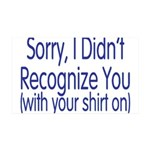 Shirt On 35x21 Wall Decal