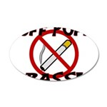 Puff Puff Pass 35x21 Oval Wall Decal